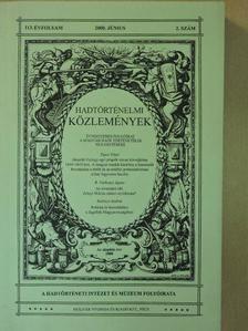 Bánkúti Imre - Hadtörténelmi Közlemények 2000. június [antikvár]