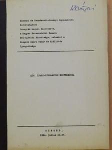 Ballai László - XIV. Ipari-tudományos konferencia [antikvár]