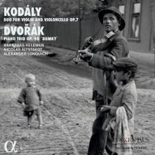 KODÁLY, DVORÁK - 44 DUOS ,PIANO TRIO CD KELEMEN ZAK