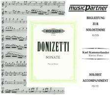 DONIZETTI - SONATE FÜR FLÖTE UND KLAVIER CD A FUVOLA KOTTÁHOZ (KL.: KAMMERLANDER, K.)