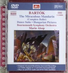 BARTÓK - THE MIRACULOUS MANDARIN AUDIO DVD MARIN ALSOP