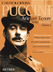 Puccini - CANTILOPERA: PUCCINI ARIE PER TENORE VOL.2