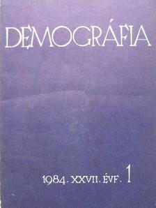 Ann-Marie Bollander - Demográfia 1984/1-4. [antikvár]