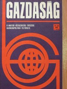 Balogh Ferenc - Gazdaság 1981/4. [antikvár]