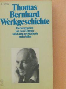 Thomas Bernhard - Thomas Bernhard Werkgeschichte [antikvár]