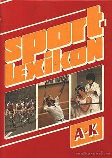 NÁDORI LÁSZLÓ - Sportlexikon I-II. [antikvár]