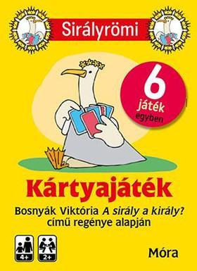 BOSNYÁK VIKTÓRIA - Sirály Römi (kártya) + rejtvényfüzet