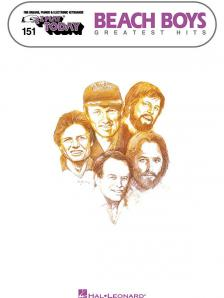 BEACH BOYS GREATEST HITS FOR ORGANS, PIANOS & ELECTRONIC KEYBOARDS