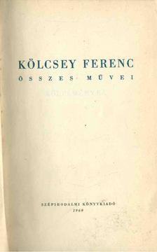 Kölcsey Ferenc - Kölcsey Ferenc összes művei 1. [antikvár]
