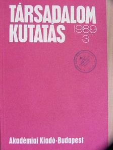 Angelusz Róbert - Társadalomkutatás 1989/3. [antikvár]