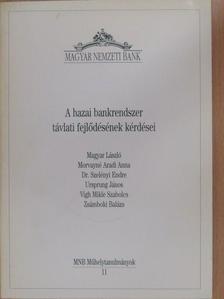 Dr. Szelényi Endre - A hazai bankrendszer távlati fejlődésének kérdései [antikvár]