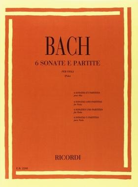 J. S. Bach - 6 SONATE E PARTITE PER VIOLA (ENRICO POLO)