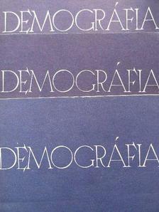 Barta Barnabás - Demográfia 1986/1-4. [antikvár]
