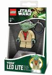 Star Wars világító kulcstartó Yoda mester