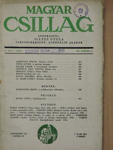 Bóka László - Magyar Csillag 1943. március 15. [antikvár]