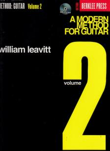 LEAVITT, WILLIAM - A MODERN METHOD FOR GUITAR VOLUME 2 - BERKLEE PRESS METHOD (CD INCLUDED)