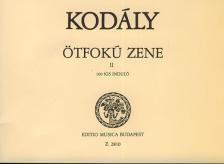 KOD - ÖTFOKÚ ZENE II. 100 KIS INDULÓ