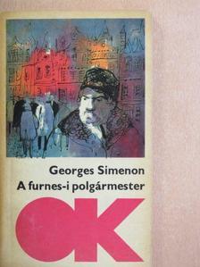 Georges Simenon - A furnes-i polgármester [antikvár]