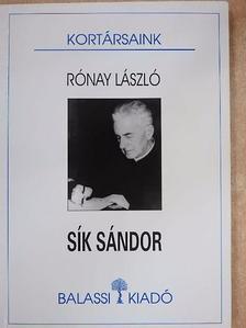 Rónay László - Sík Sándor [antikvár]
