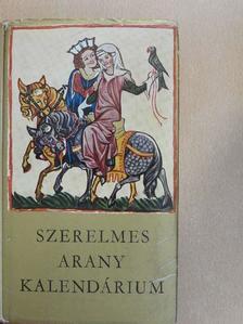 Adam Mickiewicz - Szerelmes arany kalendárium [antikvár]