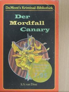S. S. Van Dine - Der Mordfall Canary [antikvár]