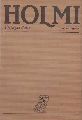 Réz Pál - Holmi 1992. november [antikvár]