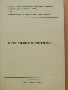 Balogh Dezső - XI. Ipari-tudományos konferencia [antikvár]