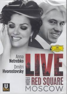 LIVE FROM RED SQUARE MOSCOW DVD