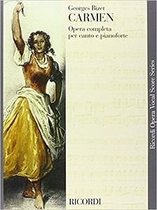 Bizet - CARMEN OPERA COMPLETA PER CANTO E PIANOFORTE