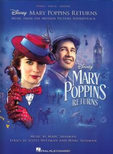 SHAIMAN, MARC - MARY POPPINS RETURNS PIANO VOCAL GUITAR