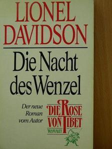 Lionel Davidson - Die Nacht des Wenzel [antikvár]