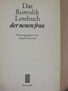 Simone de Beauvoir - Das Rowohlt Lesebuch der neuen Frau [antikvár]