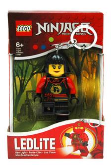 LEGO Ninjago világító kulcstartó - Nya