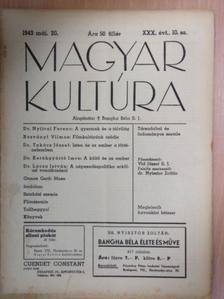 Dr. Kerékgyártó Imre - Magyar Kultúra 1943. május 20. [antikvár]