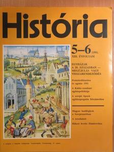 Balogh Júlia - História 1991/5-6. [antikvár]