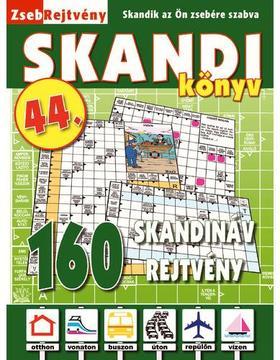 CSOSCH KIADÓ - ZsebRejtvény SKANDI Könyv 44.