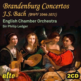 Bach - BRANDENBURG CONCERTOS 2CD SIR PHILIPLEDGER