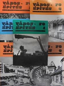 Abonyiné dr. Palotás Jolán - Városépítés 1978/1-6. [antikvár]
