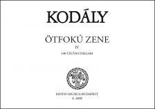 Kodály Zoltán - ÖTFOKÚ ZENE IV 140 CSUVAS DALLAM
