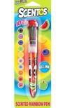 Scentos Illatos 10 színű toll - Szamóca