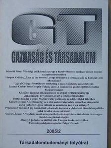 Almásy Ljudmila - Gazdaság és társadalom 2005/2. [antikvár]