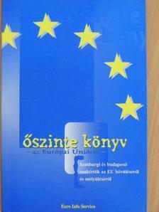 Balázs Péter - Őszinte könyv az Európai Unióról [antikvár]