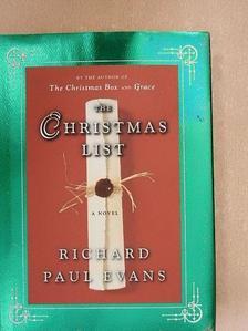 Richard Paul Evans - The christmas list [antikvár]