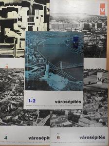 Bakonyi Dezső - Városépítés 1970/1-6. [antikvár]