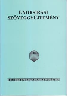 FA-104 - GYORSÍRÁSI SZÖVEGGYŰJTEMÉNY
