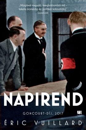 Éric Vuillard - Napirend [eKönyv: epub, mobi]