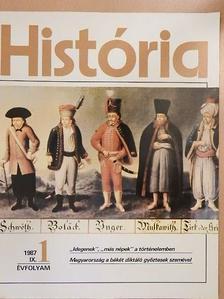 Demeter Zsuzsanna - História 1987/1. [antikvár]