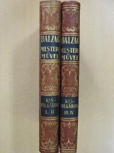 Balzac - Kispolgárok I-IV. [antikvár]