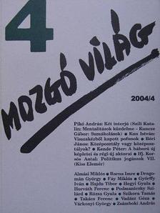Almási Miklós - Mozgó Világ 2004. április [antikvár]