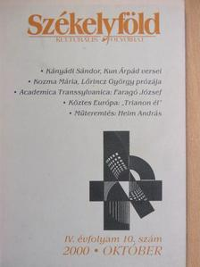 Faragó József - Székelyföld 2000. október [antikvár]
